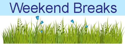 Self catering weekend breaks in UK
